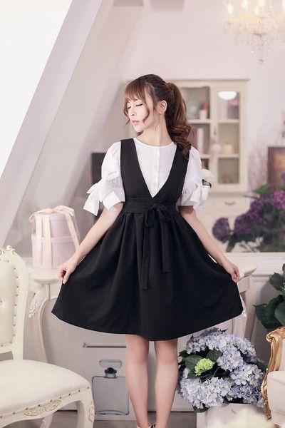 Váy yếm trẻ trung