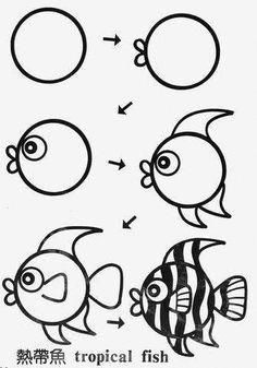 Detail By Detail Easy And Simple Art Video Lessons For Kids91248430359403 Easy Drawings Simple Art Drawings