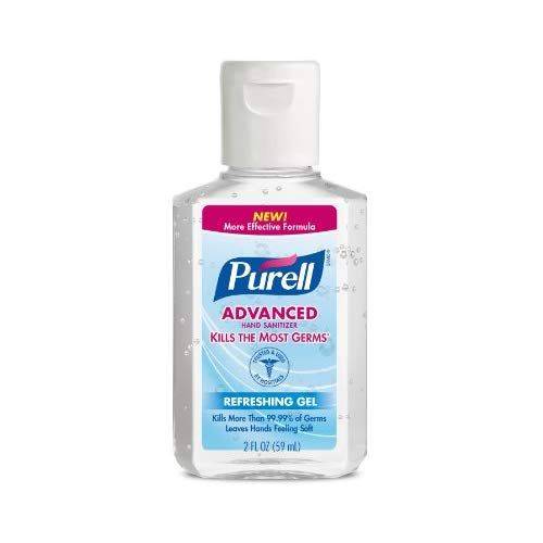 Purell Advanced Hand Sanitizer Refreshing Gel 2 Fl Oz Portable