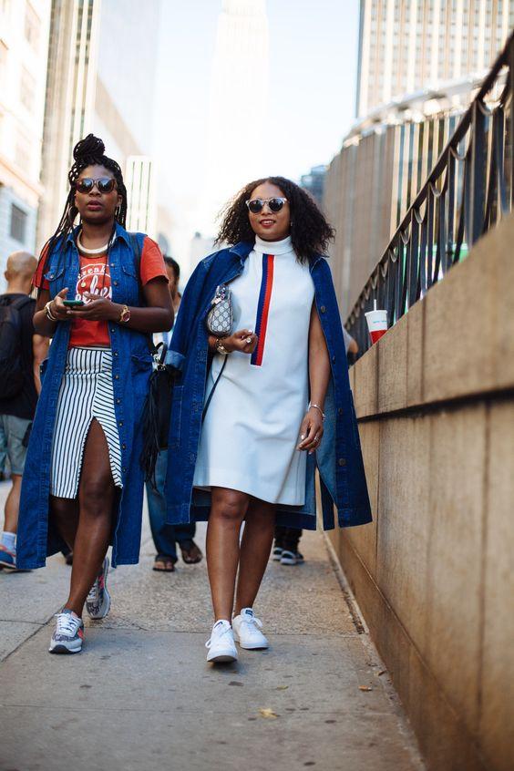 #NYFW street style [Photo: Liz Devine]: