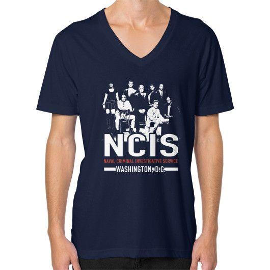 NCIS WASHINGTON DC V-Neck (on man)