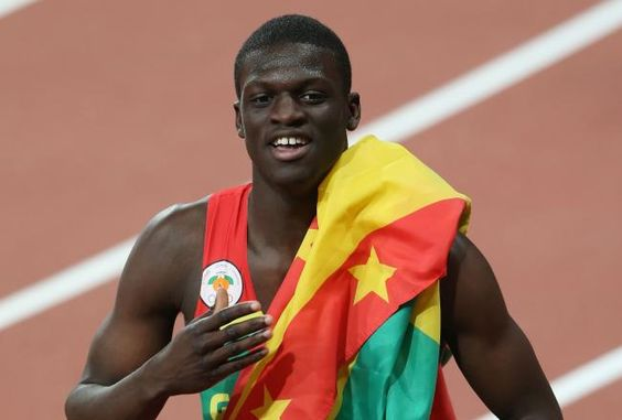 Kirani James Wins Gold for Grenada's First Medal:    Last night, Kirani James of Grenada truly exemplified what the Olympics stand for.    Preparing at the starting blocks, James was well aware of the stakes facing his 400-meter dash. The favorite after winning gold at the 2011 World Championships, he was looking to win the first Olympic medal for his tiny island nation.    As a sprinter from a small Caribbean Island, James has constantly been overshadowed by more featured sprinters...