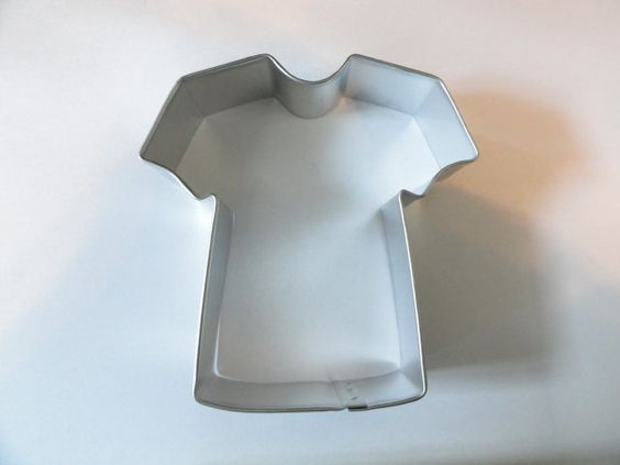 FOOTBALL JERSEY SHIRT  Cookie Cutter by almostnecessities on Etsy