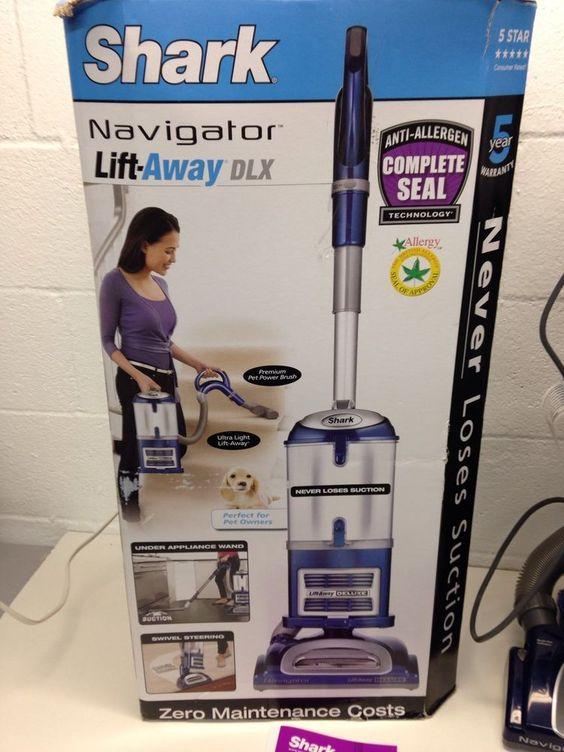 Shark Navigator NV360 LiftAway Deluxe Bagless Upright Vacuum Blue
