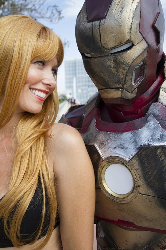 Pepper Potts and Ironman