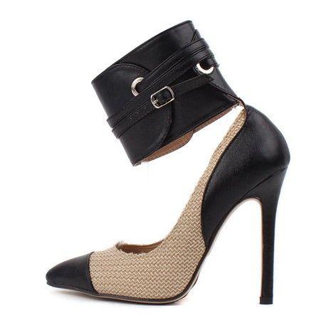 Design pumps color blocked fashion ladies high heel shoes