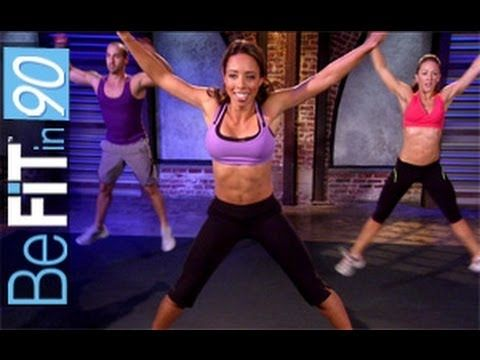 BeFit in 90 is a FREE and revolutionary new 90 Day Workout System, available exclusively on YouTube. Take the BeFit in 90 challenge and start transforming your body today. To achieve your fitness and weightloss goals, start with the playlist for Day 1 and continue through the workout playlists for 90 days. This total body circuit and cross-train...