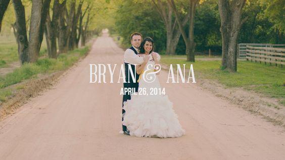 Bryan & Ana Wedding