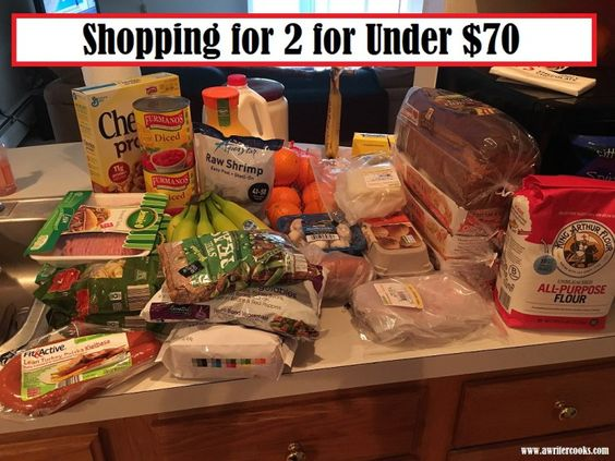 Grocery Shopping Haul and Meal Plan, 2 People, 1 Week, Under $70 --A Writer Cooks. View the post at http://www.awritercooks.com/grocery-haul-and-meal-plan-march-21/
