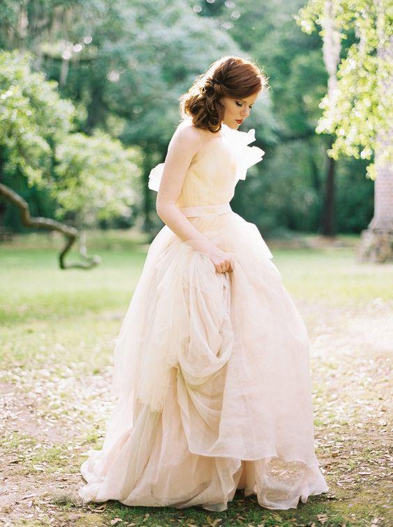 Wedding Inspiration   Dress: Carol Hannah Grand Palais   Photographer: Perry Vaile