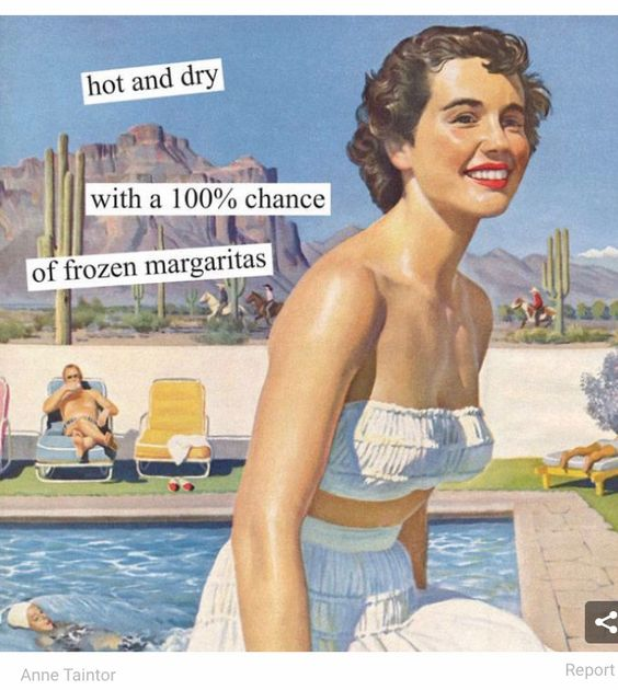 Hot and dry