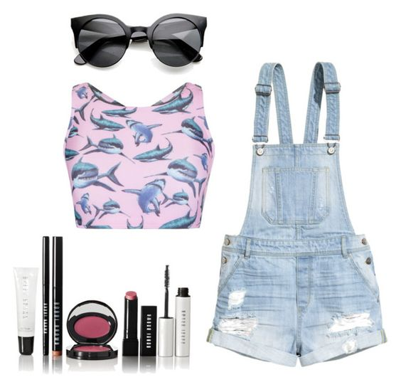 """""""Top Fashion Products for Jul 11th, 2015 #9"""" by sad11 ❤ liked on Polyvore featuring H&M, MINKPINK and Bobbi Brown Cosmetics"""