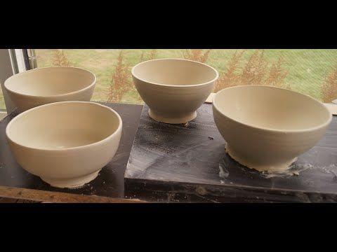 Throwing Ramen Bowls And Basics Of Centering Youtube Ramen Bowl Bowl Handmade Ceramics