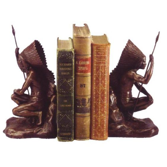 Warrior Chief Bookends - 0744-VG