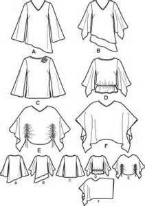 free sewing poncho shirt - Bing Images