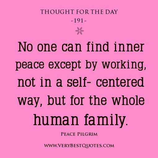 Thought For The Day Quotes: Spiritual Thought For The Day