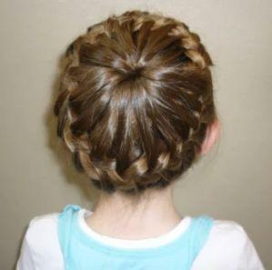 Stupendous French Braid Buns Brown Hair And Buns On Pinterest Short Hairstyles Gunalazisus
