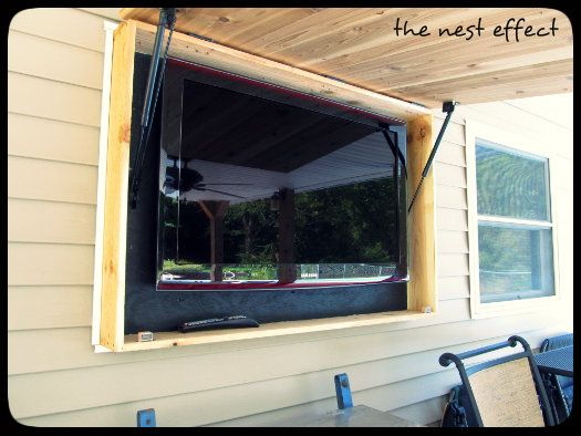 The Nest Effect: The Handiwork Of My Father, Outside TV | TV | Pinterest |  Nest, Father And TVs