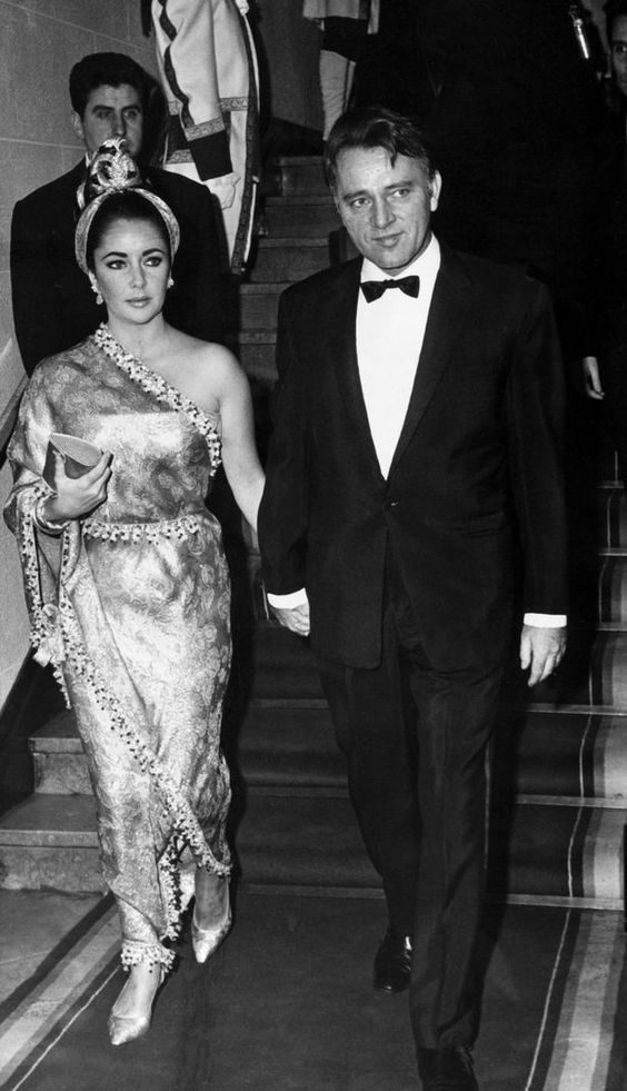 Elizabeth Taylor and Richard Burton in 1967