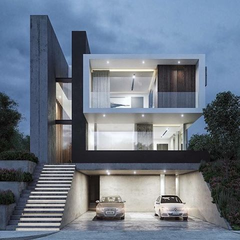 Contemporary Mexican Architecture Firms You Should Know Via Contemporaryhomes Be Inspired B Modern House Design Duplex House Design House Architecture Design