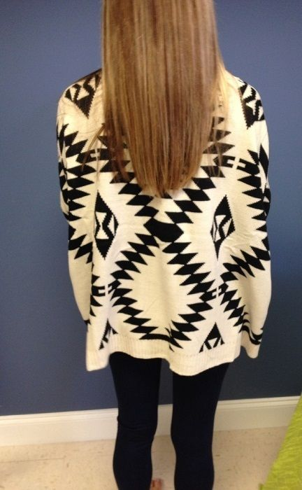 COZY aztec cardigan!! $40  10% off entire online store the month of December! Use promo code DECEMBER