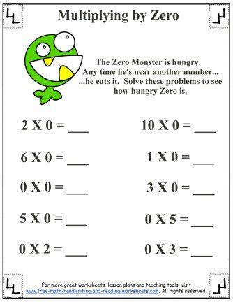 math worksheet : basic multiplication worksheet  multiplying by zero  : Basic Multiplication Facts Worksheets