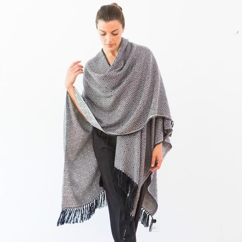 Harlow Long Poncho by ashermarket