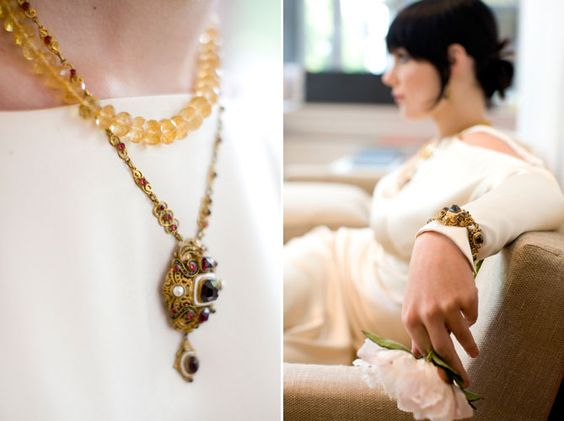 Beautiful Austria Hungarian beaded necklace, photo by Cheri Pearl Photography