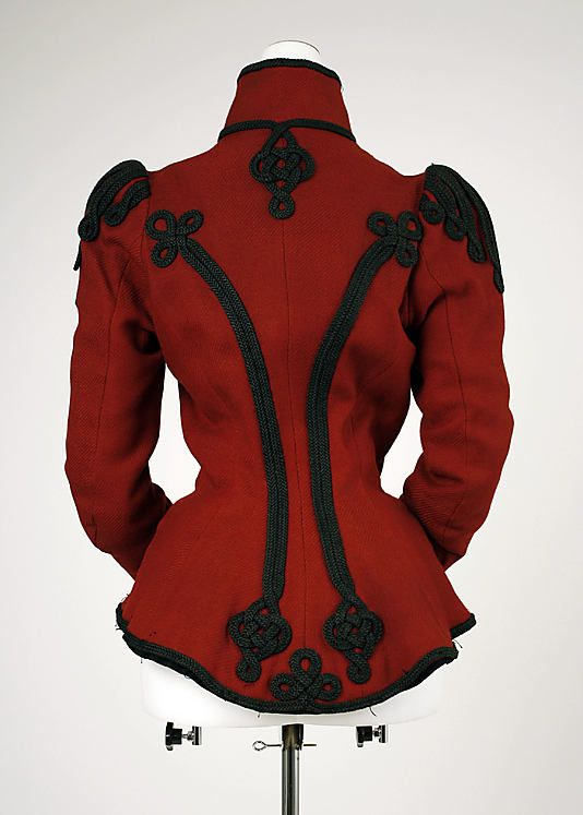 Jacket Date: ca. 1899 Culture: European