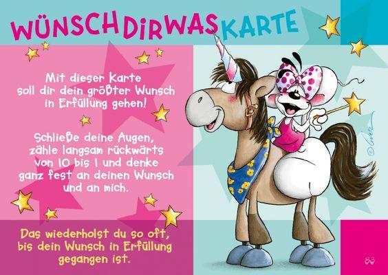 WünschDirWas-Karte | Diddl | Echte Postkarten online versenden | Diddl