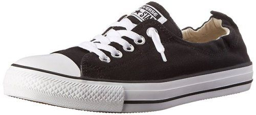 M M // US Womens 7 B US Mens 5 D Converse Chuck Taylor All Star Low Top Black//White Sneakers