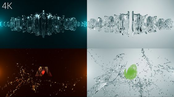 Organic Liquid Splash Logo - 3
