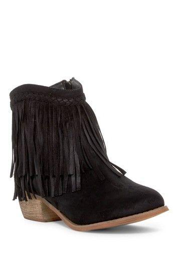 Image of ANNA Footwear Manjee Fringe Boot