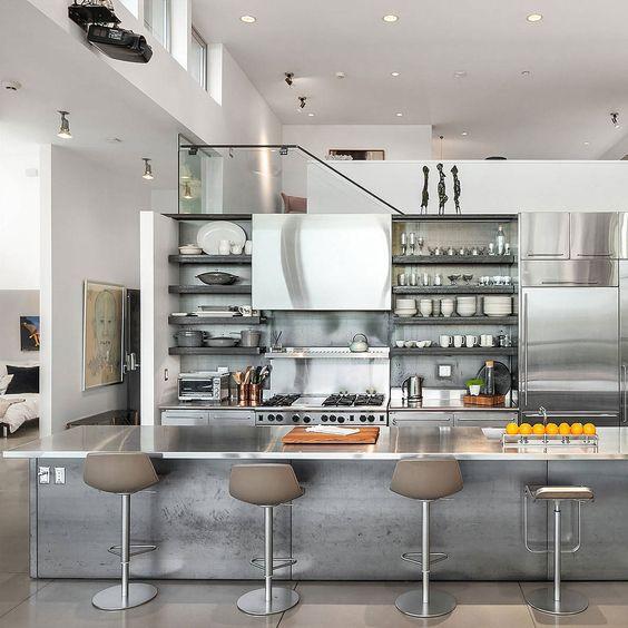 ステンレス キッチン カウンター Ⅱ型 サンプル 画像