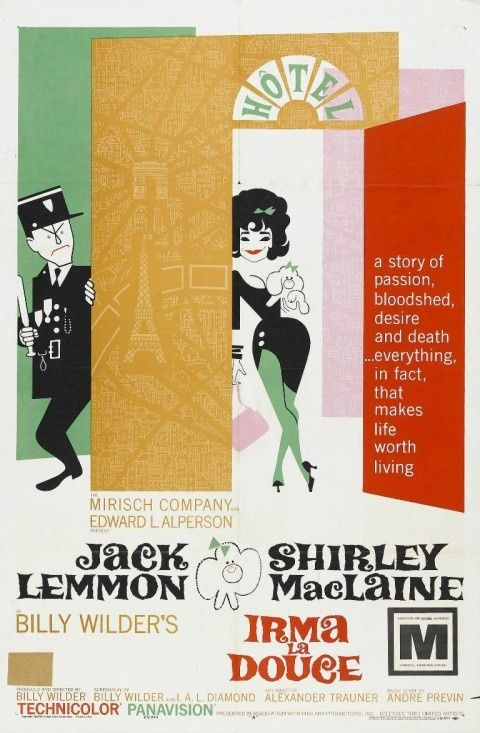 Irma La Duce movie poster