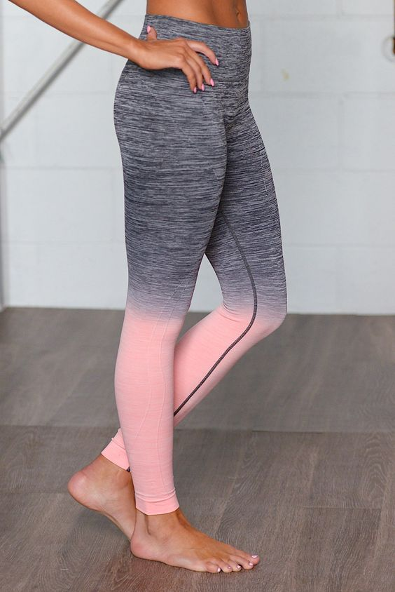 Give It All You Got Ombre Athletic Pants - Pink from Closet Candy Boutique