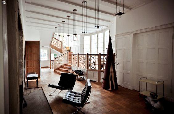畫廊老闆與藝術收藏家Thomas Andrae德國柏林的別墅