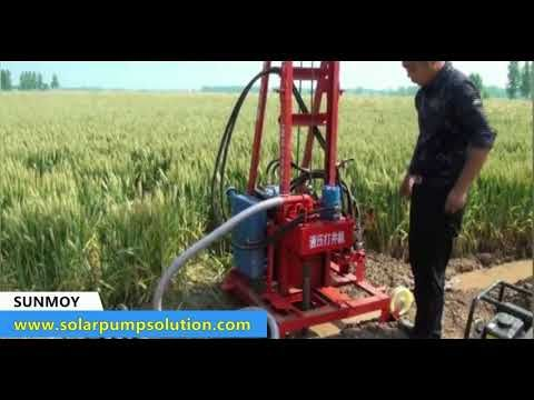 Portable Hydraulic Water Well Drilling Rig Youtube Water Well Drilling Rigs Water Well Drilling Well Drilling