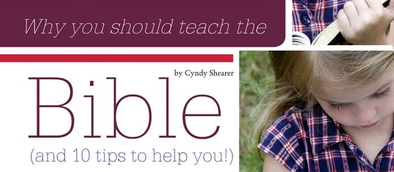 Great article on teaching and modeling the Word of God for your children. Click to read 10 tips for sharing the Bible with your children!