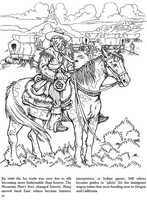 trapping coloring pages - photo#17