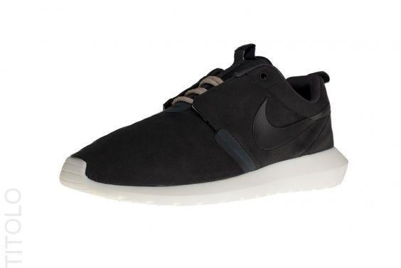 Nike Roshe Course Nm - Basket - Mortier Anthracite Noir  / Noir Net