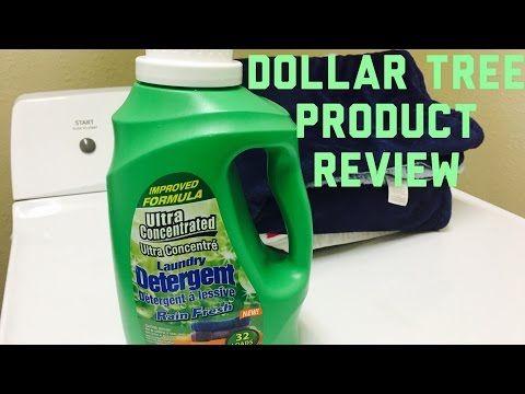 Dollar Tree Detergent Review Youtube Dollar Tree Detergent