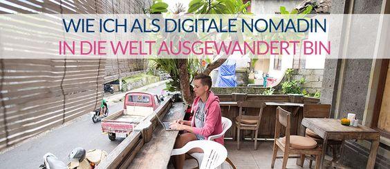 #digitalenomadin #digitalnomad #auswandern Pinned by Curvy Mama