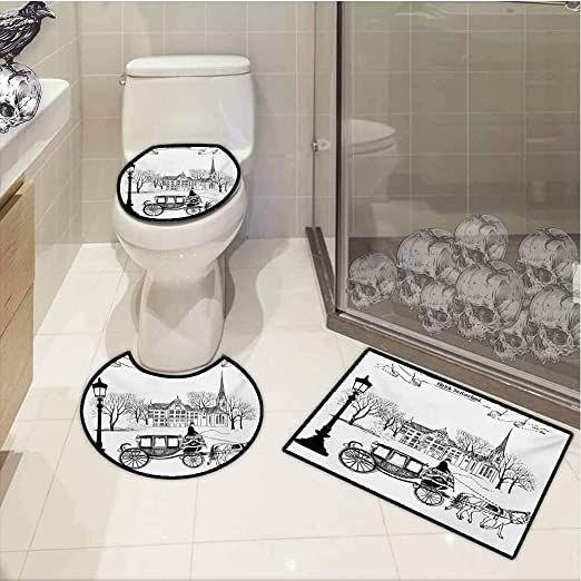 Liuq Bathroom Accessories Set Bathroom Accessories Set Simple Plastic Wash Kit European Style Soap Box Toothbrus Bathroom Accessory Set Soap Boxes Toilet Brush