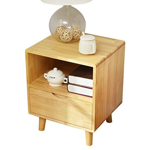 Xf Nightstands Solid Wood Bedside Table Nordic Simple Modern Mini Child Storage Locker Simpl Solid Wood Bedside Tables Simple Bedside Tables Solid Wood Bedside