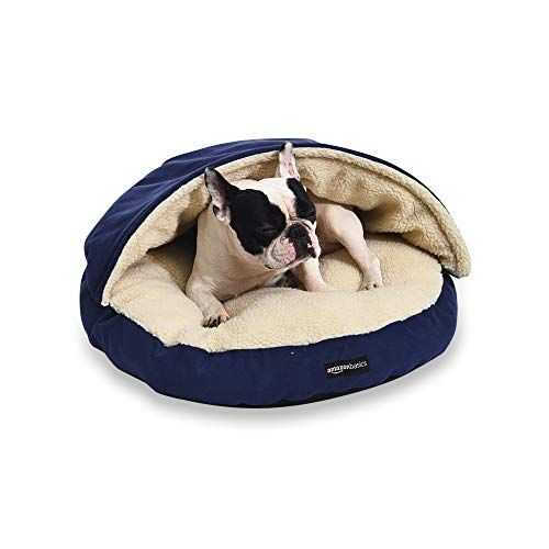 Amazon Basics Extra Large Pet Cave Bed 45 X 45 X 14 Inches Blue Arezona Family Pets Pet Bed Your Pet