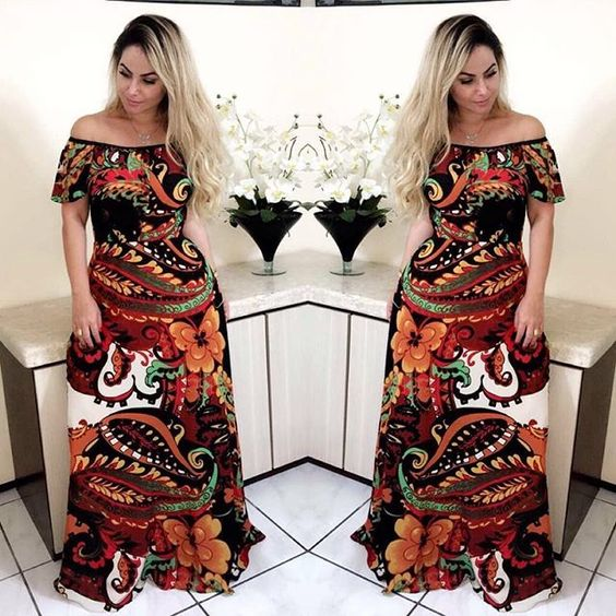 WEBSTA @ menabrasil - Nos despedimos do final de semana com um  da bela @jamilecambraia, um arraso com nosso long dress ❤️ #amomená #luxurygarden