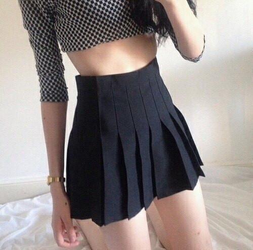 Tennis Pleated Skirt Fashion American Apparel Skirt Mini Skirts
