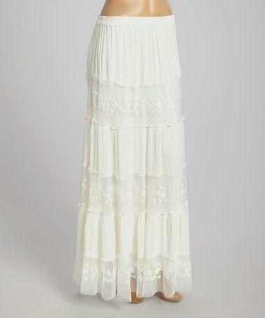 Lace Skirt - White Elegance - Makers of LDS Temple Clothes, Temple ...