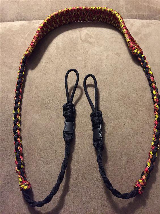 Dùng dây Paracord để làm dây đeo cho cặp/túi